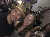 """Today I met my dance idol @derekhough who pushes me further as a dancer (especially tap)! He is an inspiration and a true role model!"" Courtesy Allielobo tw"