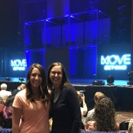 """""""Almost showtime! So excited to see two of our favorite dancers @juleshough @derekhough #movebeyond #moveliveontour #route66"""" Courtesy jennifisher66 IG"""