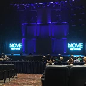 """#movelive #motionequalsemotion #derekhess #juliannehough #movebeyond #moveliveontour #route66 #2017"" Courtesy herenblanc ig"