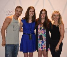 """""""@derekhough and @juleshough you guys are amazing and humble role models for everyone out there that look up to you guys. It was an amazing experience being able to meet you guys again yesterday with my best friend, and seeing your show @moveliveontour and it definitely was a #rockconcertfordance as you guys say. It's a night that neither I or my best friend will forget. You both bring out such positive messages and help brighten up everyone around you. I wish that I could relive yesterday and do the VIP and show all over again. I thought that last years show was fantastic and that it couldn't be beaten, but this year's show was just as good or even bigger and better than last years.I'd say overall its hard to choose a favorite tour out of the three. I would say that it is also a wonderful experience getting to see you guys perform live and have that one on one connection. As you guys say in your previous program it's not about what you have or don't have, it's about what you give and share with others. That is a great message. I can't wait to see what else you guys do in the future. June 9, 2017 #derekhough #juleshough #thehoughs #houghsibilings #movebeyondliveontour #movebeyond #movebeyondvip #june #2017 #denver #bellco #bellcotheatre #dancers #singers #performers #amazing #rolemodels #girlsnight #humble #downtoearth #positivity #motionequalsemotion"""" Courtesy jeanettebarbie93 ig"""