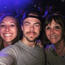"""And then this happened! Thanks @derekhough and @juleshough for taking the time for your fans. I don't think I could have given my mom a better birthday gift! We will always be your Alaska fans! #movebeyond #dreamcometrue"" Courtesy aksundquist ig"