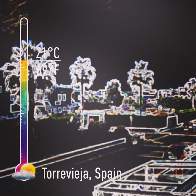 Weather in Torrevieja - from Instagram