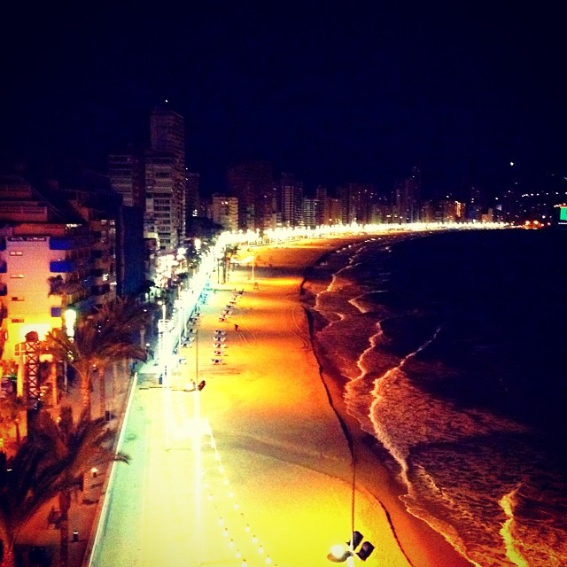 Playa Levante, Benidorm - from Instagram