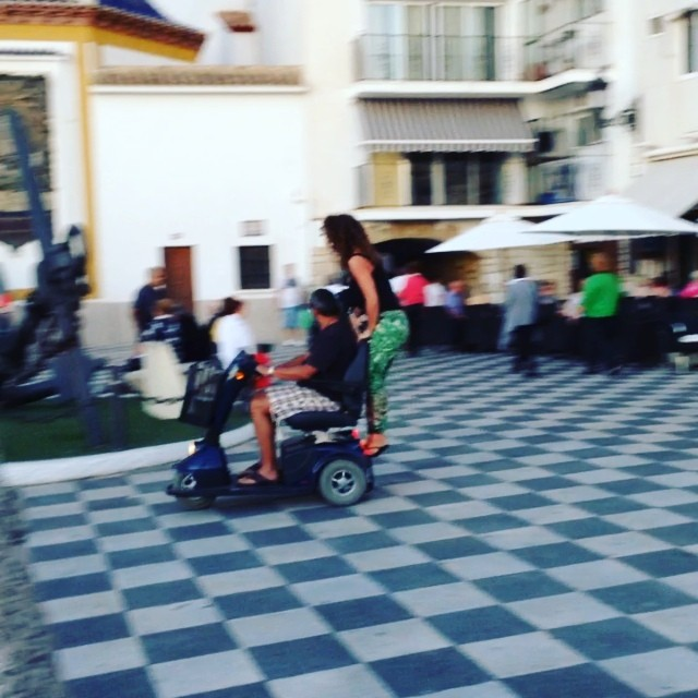 "Drunk ""Madge"" scooters - from Instagram"