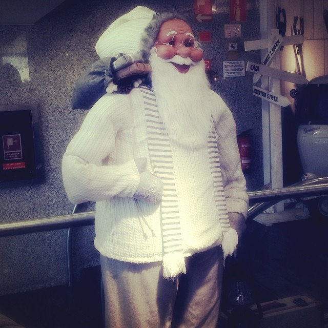 Father Christmas - from Instagram