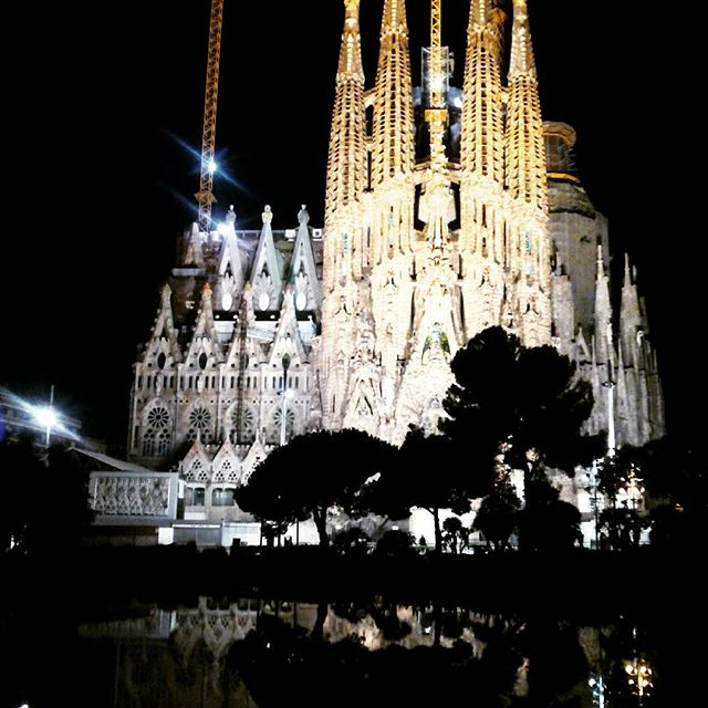 Sagrada Familia Barcelona - from Instagram