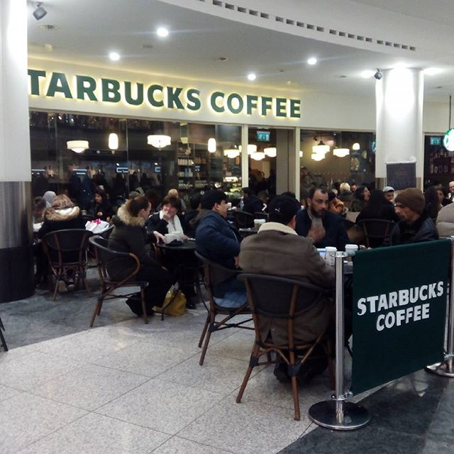 There's not enough Starbucks, Subways or Greggs in Manchester, said no one ever. - from Instagram