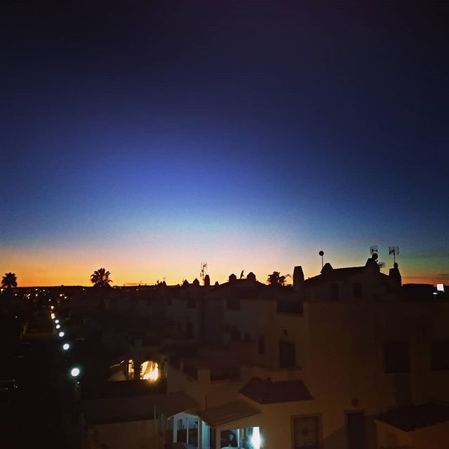 Sunset #sunset #autohash #Torrevieja #Spain #ComunidadValenciana #architecture #sunset #city #travel #traveling #visiting #instatravel #instago #evening #dusk #dawn #outdoors #light #sky #building #cityscape #home #landscape #moon #town #street #backlit #silhouette - from Instagram
