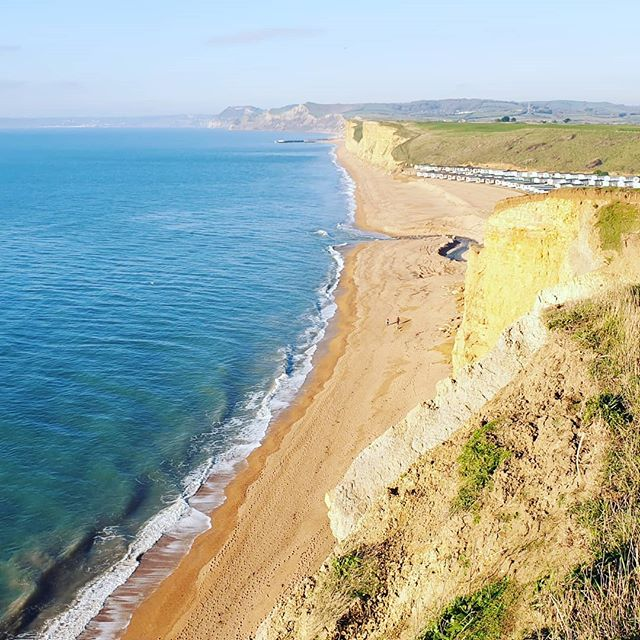 #autohash #UnitedKingdom #England #water #travel #traveling #visiting #instatravel #instago #nature #sand #summer #cliff #tropical #outdoors #seashore #sky #relaxation #surf #sea #sun #idyllic #turquoise #rocky #Broadchurch #ITV - from Instagram