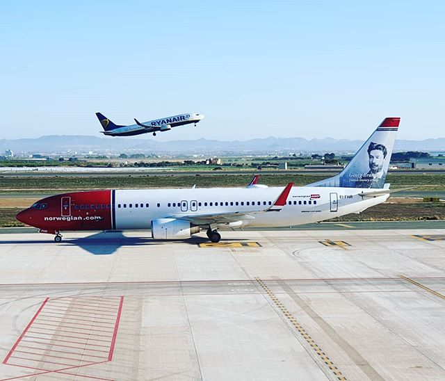 #autohash #Corvera #Spain #RegióndeMurcia #airplane #airport #aircraft #runway #jet #flight #cockpit #aviate #travel #traveling #visiting #instatravel #instago #ryanair #norwegianairlines - from Instagram