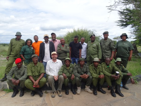 Village Game Scouts and Leadership of Burunge Wildlife Management Area. These rangers protect the wildlife and other natural resources within the community-based natural resource management zone.