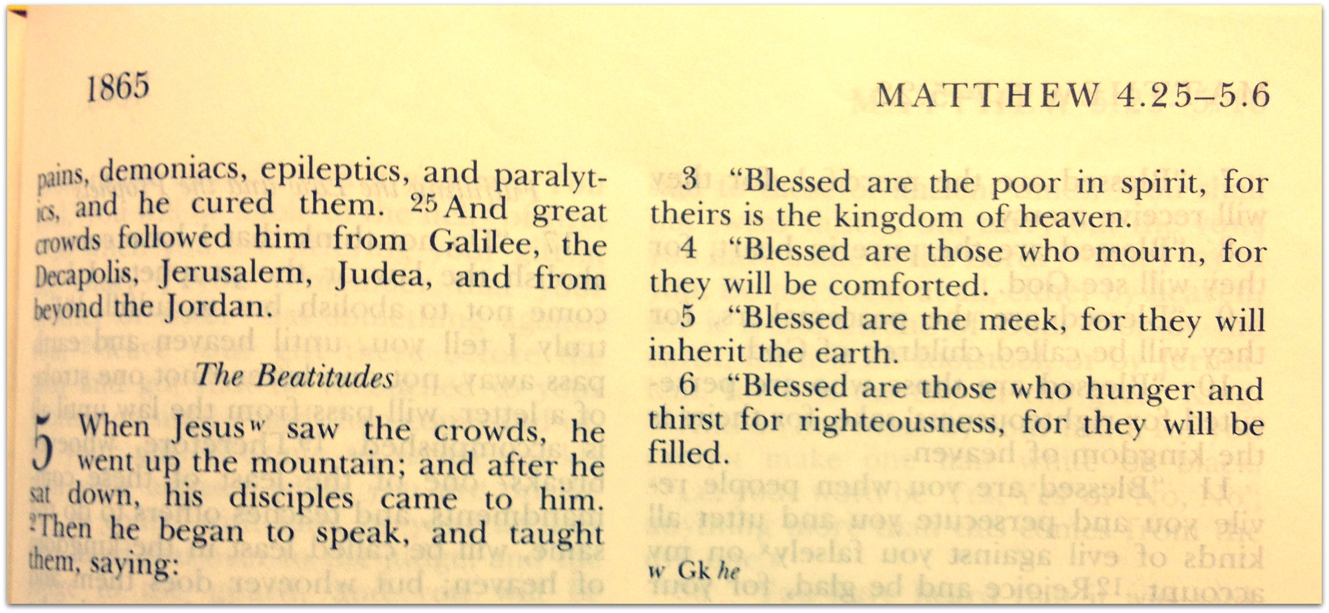 Good Grief Beatitudes Reading Between The Lines