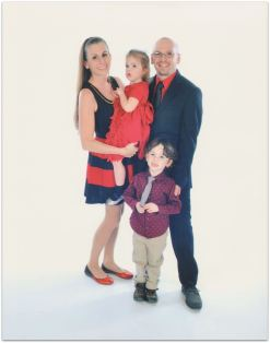 The Campbell family (image by Royal Caribbean)