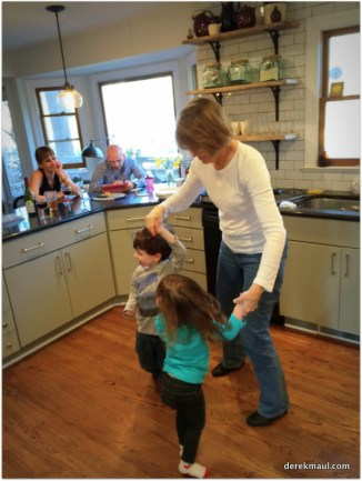 dancing with grandmama