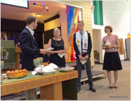 one more youth joins the church
