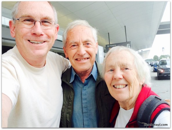Derek with Dorothea and John off to their next adventure