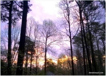 Sunrise in Wake Forest, NC