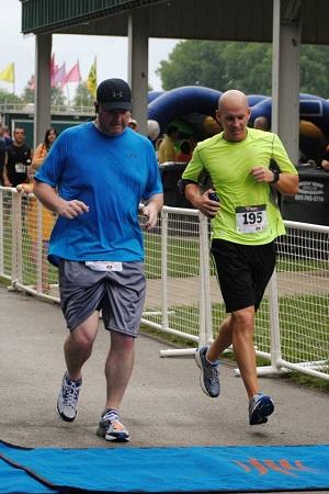 Derek & Bruce - Finish Line in 4 for the 4th