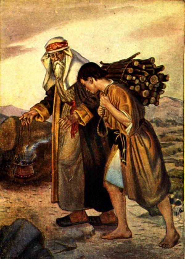 abraham and isaac # 19