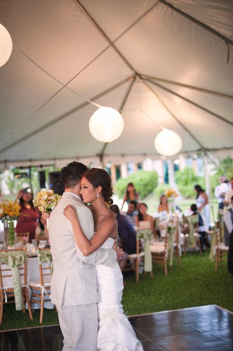 Sany Amp Trieu Paradise Cove Oahu Hawaii Wedding