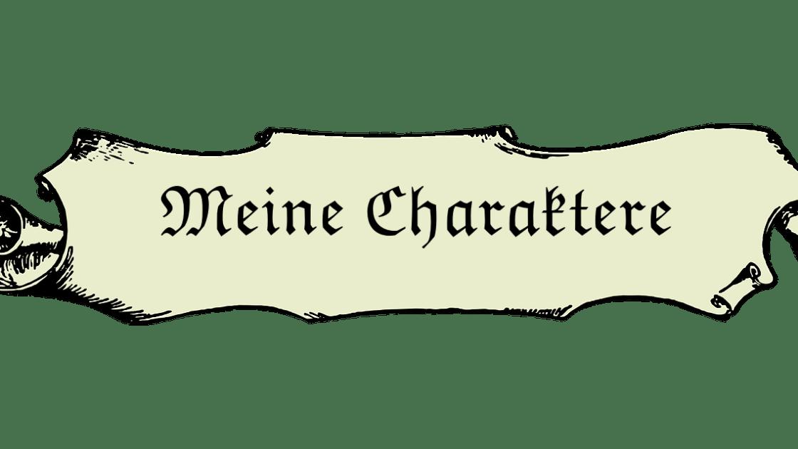 Meine Charaktere. Bild von b0red auf Pixabay