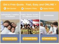 California Health Insurance Enrollment Rates and Optional Online Application