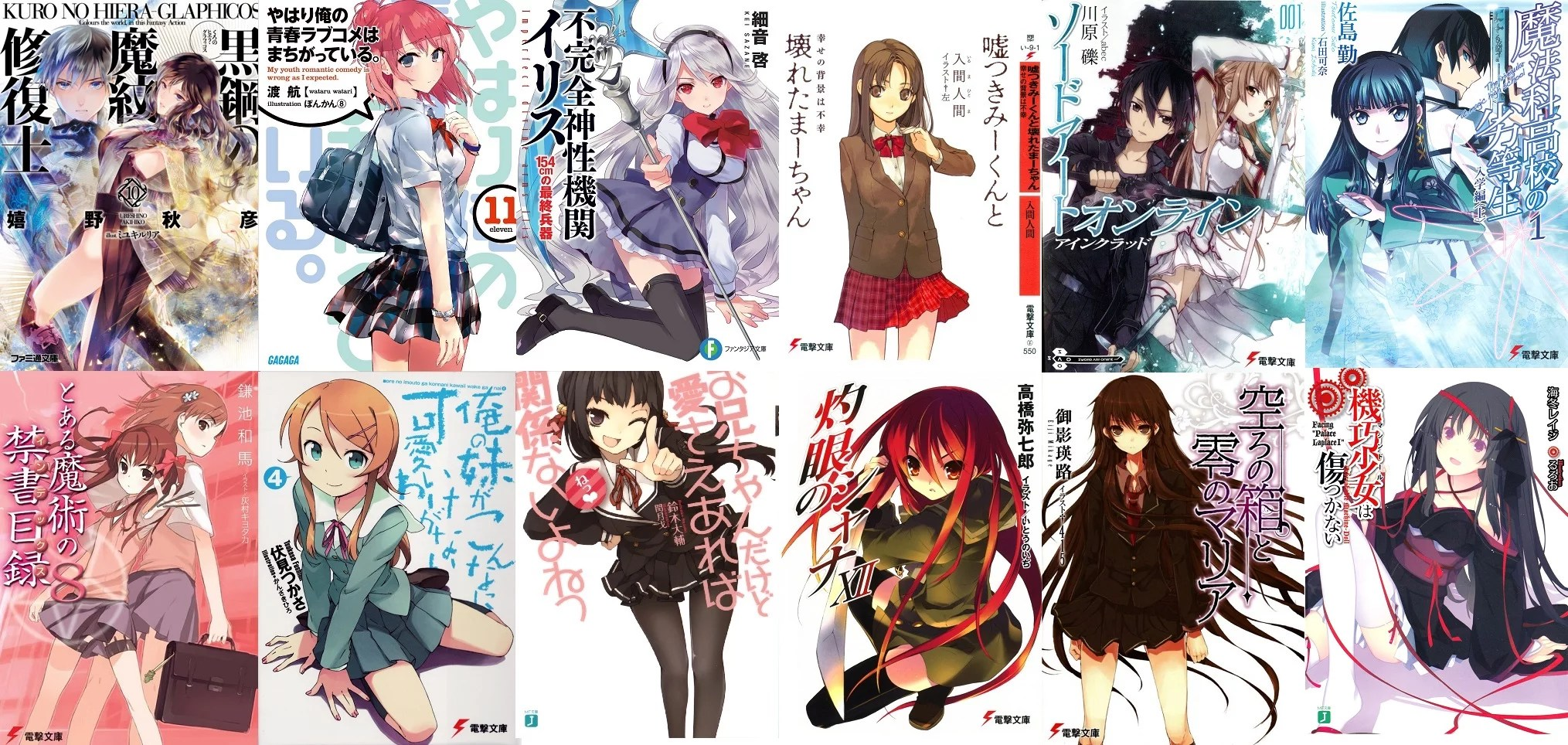 Image result for light novels