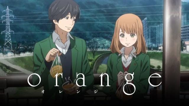 orange time travel anime