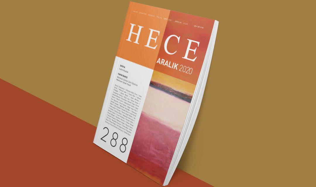 HECE ARALIK 2020 SAYI 288-CAHİT KOYTAK DOSYASI İLE ÇIKTI!