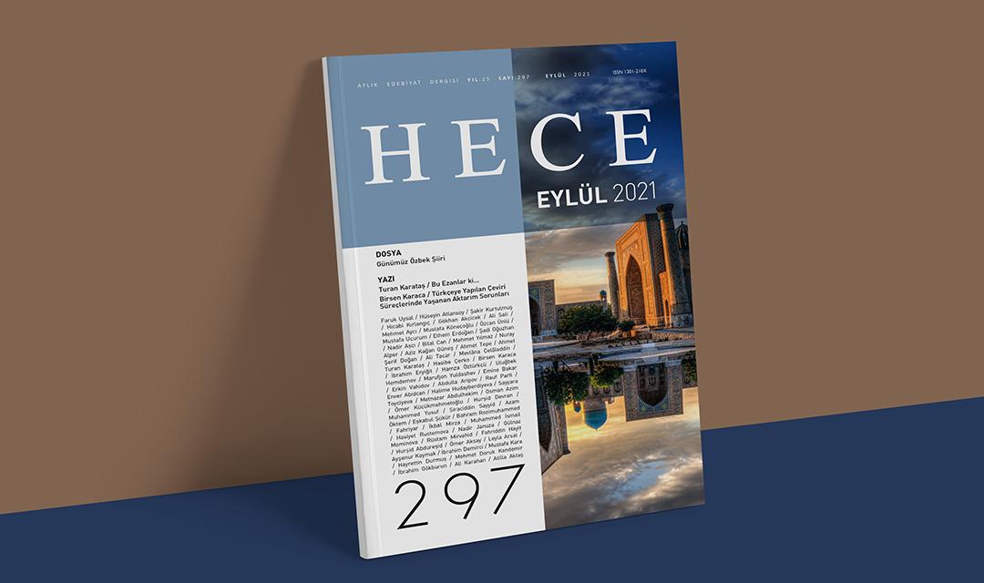 HECE 297 EYLÜL 2021 SAYISI ÇIKTI