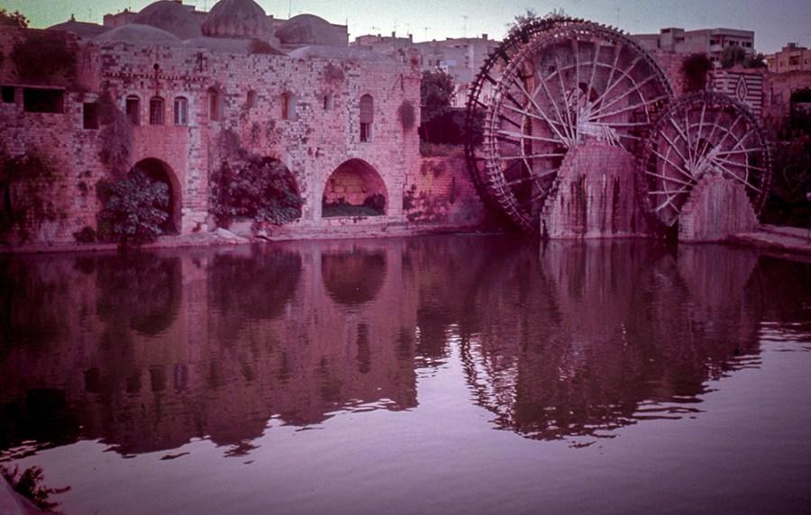 Hama: Wasserräder