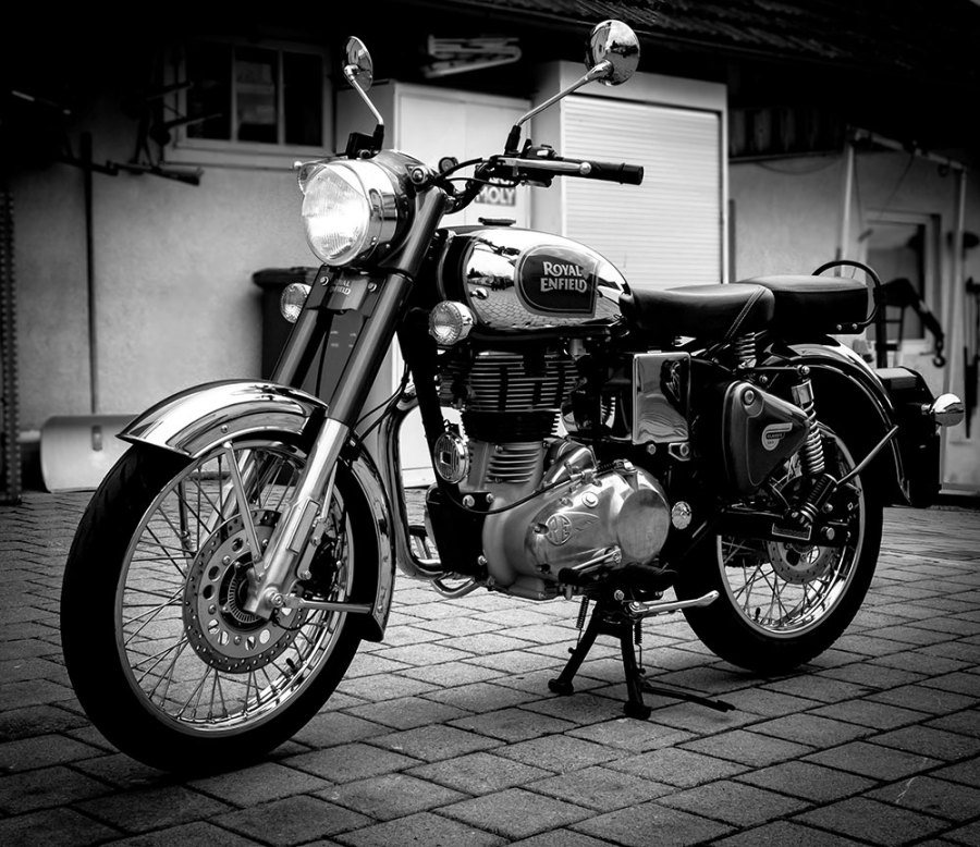Motorrad Royal Enfield Classic Crome