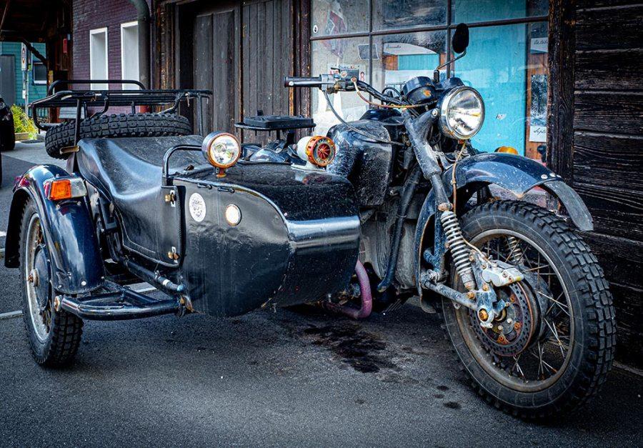 Manchmal frage ich mich ob mein motorrad auch an mich denkt