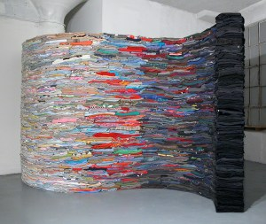 The Ocean is the Underlying Basis for Every Wave, 2008 (black side)