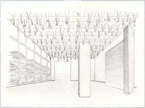 Installation Study, Interior, 2010