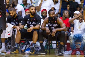 Morris Twins and James Harden