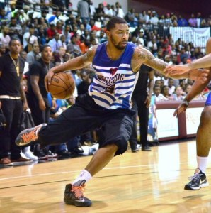 One of the Morris twins competing during the 2013 Danny Rumph Classic. (Photo: Mark Jordan)