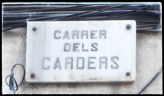 STARKE STRECKE BARCELONA: CARRER DELS CARDERS