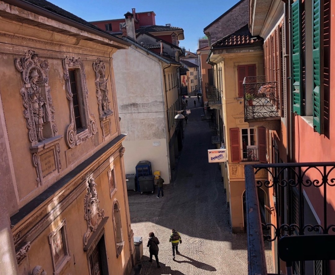 Via Cittadella, Altstadt Locarno