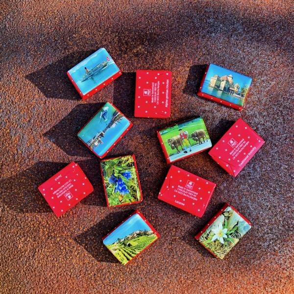 Schokolade mitnehmen auf Reisen