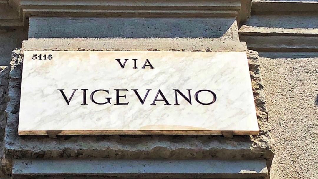 Navigli Quartier Milano, Via Vigevano