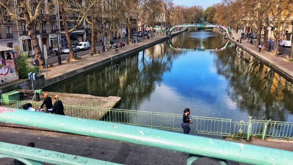 Paris: Romantischer Bummel zum Canal St Martin