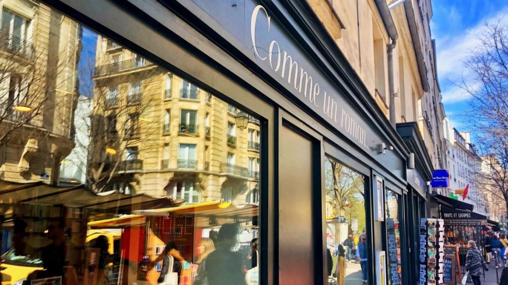 Paris Marais: Buchladen Comme un Rooman