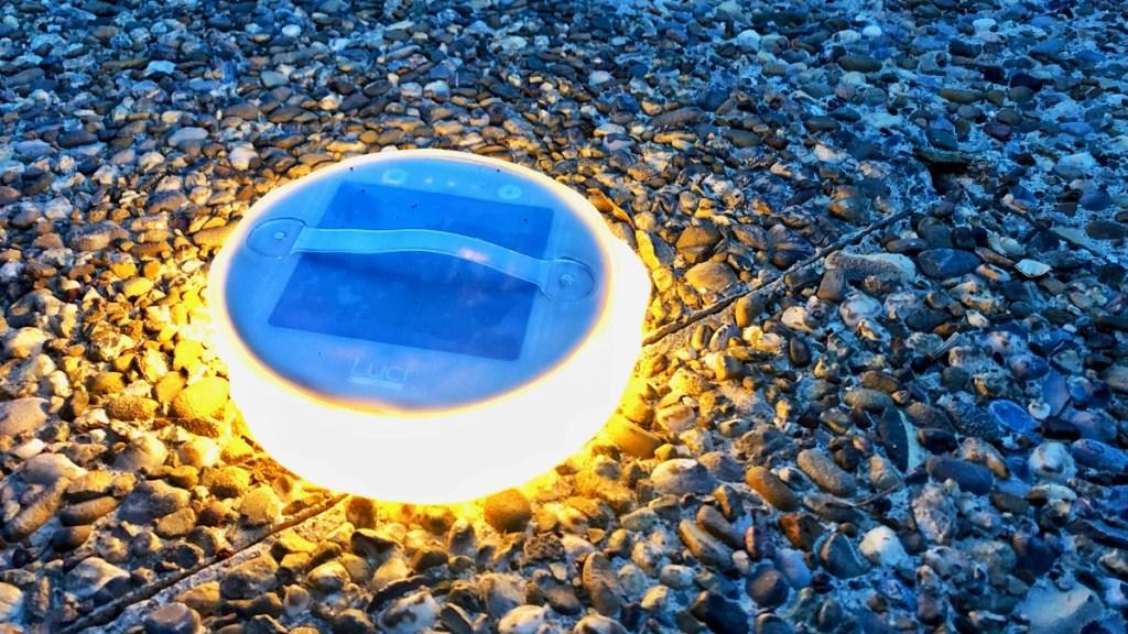 Solarlicht Luci, portabel und ultraleicht
