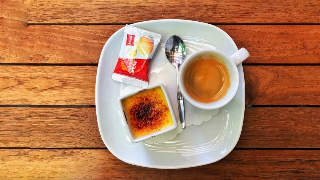 Dessert im Cafe de Grancy Lausanne