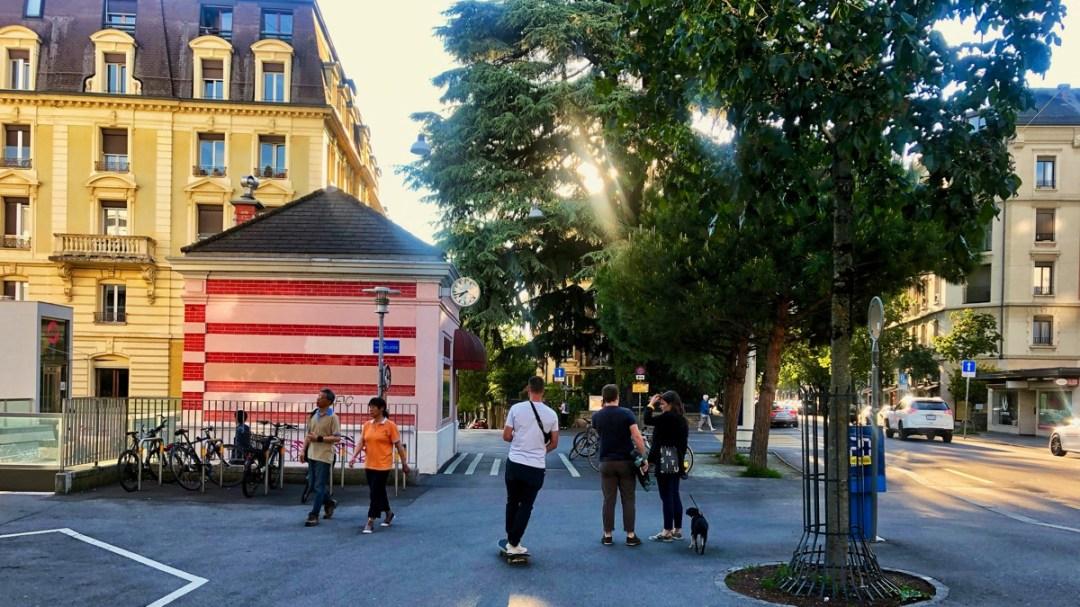 Lausanne Grancy Sous Gare