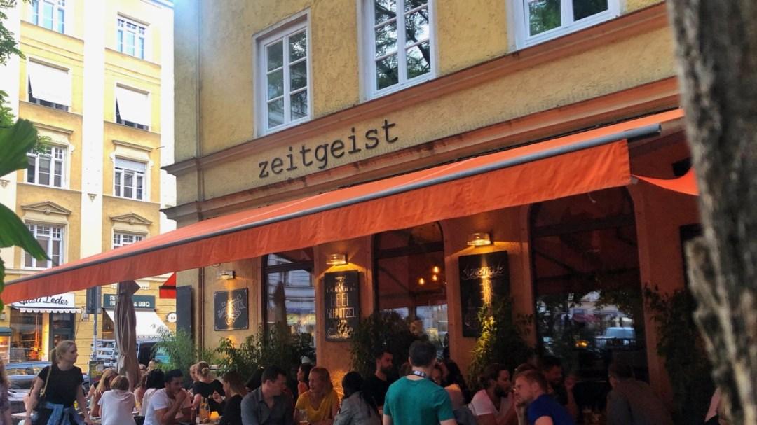 Cafe Zeitgeist Maxvorstadt München