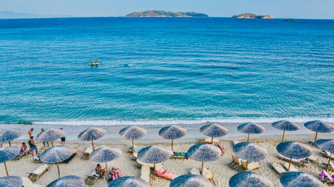 Strandaufnahme: Richtig erholen im Urlaub