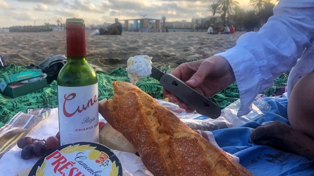 Picknick Taschenmesser für Wein, Brot und Käse im Test