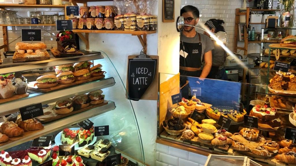 Dulce de Leche, Beliebtes Cafe und Konditorei in Valencia